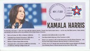 6° Cachets 5362 Kamala Harris Vice President-elect 2020 Election ribbon star