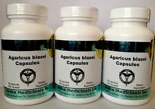 3 botellas Agaricus Blazei, suplemento alimenticio, hongos/setas medicinales
