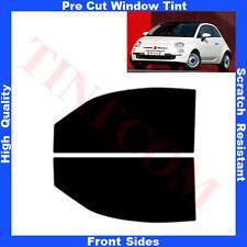 Pellicola Oscurante Vetri Auto Anteriori per Fiat 500 3Porte 2007-2011 da5% a70%