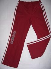 PANTALON de jogging Survêtement fille neuf ADIDAS taille 14 ans coloris Rouge