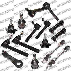New Front Super Duty Steering Idler Arm,Pitman,Tie Rod End For GMC C1500, C2500