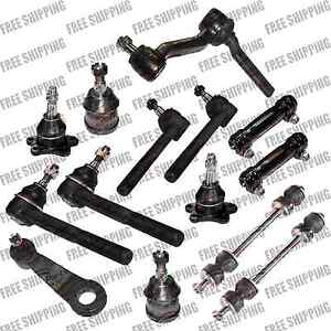 Front Super Duty Steering Idler Arm/Pitman Tie Rod End For Chevrolet C1500 C2500