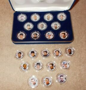 New York Yankees 2004 Painted State Quarters Lot OF 23