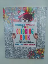 Where's Waldo? The Coloring Book by Handford, Martin, NEVER USED