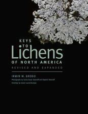 Keys to Lichens of North America by Irwin M. Brodo (2016, Paperback, Revised)