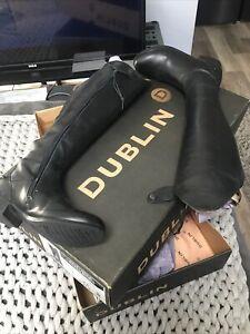 dublin boots 7, Equestrian Riding Fashion Boots Used Comes W/box 7/10 Condition