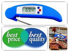 Ultra Fast Instant Read Digital Electronic Grill BBQ Barbecue Meat Thermometer