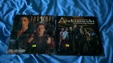 2003 square wall calendar farscape & gene roddenberry's andromeda sealed lot A