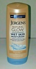 Jergens Natural Glow Wet Skin Moisturizer, Fair To Medium Skin Tones 7.5 Ounces