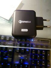 RavPower 30w Dual Usb Turbo Wall Charger Qualcomm Quick charge 3.0 technology