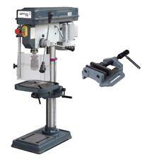 OPTIMUM Tischbohrmaschine B 20 SET Ständerbohrmaschine 230V inkl. Schraubstock