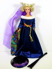 NEW DRESSED BARBIE DOLL THE GREAT ERAS COLLECTION MIDIEVAL LADY