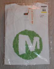 Mens 10 X Merrell Bio-Blend Organic Dot Tee Merrell White t-shirt size M bundle