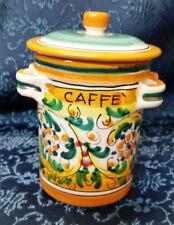 VINTAGE Sadler Ceramica Inghilterra messicano uomo Caffè Barattolo Contenitore Di Stoccaggio