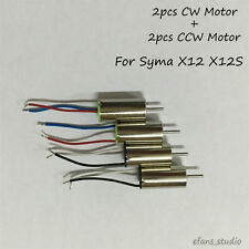 4Pcs Original  CW/CCW Motor Motor for Syma X12 X12S Nano RC Quadcopter Drone