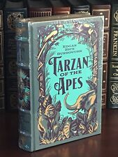 TARZAN OF THE APES by EDGAR RICE BURROUGHS- LEATHERBOUND & BRAND NEW!