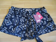 Tommy Girl Floral Print Shorts with Belt NEW WITH TAGS