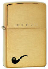 Zippo Pipe Lighter, Brushed Brass, 204PL (Limited Production)