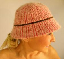 Chapeau cloche angoras pour femme
