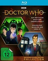 DOCTOR WHO-ANIME DOUBLE FEATURE - TENNANT,DAVID/ INFINITE  BLU-RAY NEW