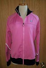 Pearl Izumi Cycling Jacket Select Pink Black Long Sleeve Womens Size Medium