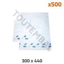Enveloppe kraft doublée de papier bulle J 300 x 440 mm (par 500)