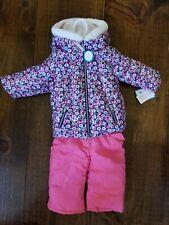 Carters 12 Month Baby Girl Winter Coat Snowsuit Snow...