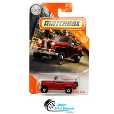 Matchbox 1948 Willys Jeepster (Red) 2020 W Case
