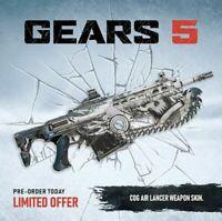 XBOX ONE  Gears 5 - Exclusive COG Air Lancer Weapon Skin - DLC , XB1 , of war