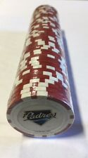 50 San Diego Padres Poker Chips - Red - NEW! 11.5 grams