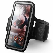 "Spigen SGP Velo A701 Sports Armband Phone Holder for Smartphones 4.7"" - BLACK"