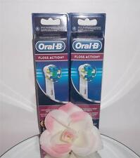 Oral-B Floss Action Replacement Brush Heads Toothbrush Refills 6 Pack