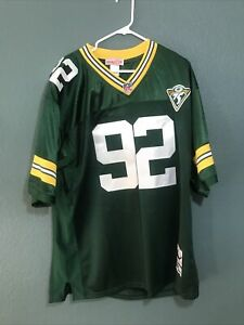 100% AUTHENTIC MITCHELL & NESS Reggie WHITE PACKERS 1993 Jersey Size 56 NWT