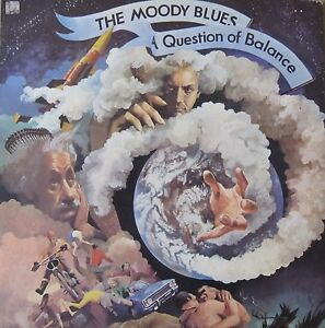 THE MOODY BLUES  LP  A QUESTION OF BALANCE