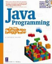 Java Programming for the Absolute Beginner (For the Absolute Beginner-ExLibrary