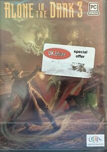 Alone In The Dark 3 PC CD Rom Computer Game ** NEW & SEALED