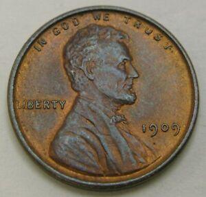 USA 1 Cent 1909 - Bronze - XF - 74
