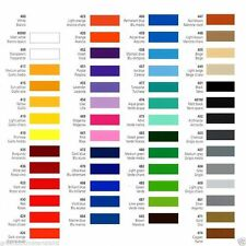 Prime Series Coloured Self Adhesive Vinyl - 54 Colours - Silhouette Portrait