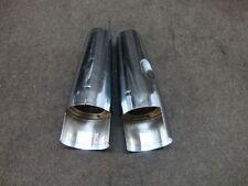 08 2008 YAMAHA XVS1100 XVS 1100 V-STAR FORK CHROME COVERS, UPPER #Z9