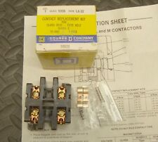 NEW Square D 9998 LA-32 Contact Replacement Kit Class 8910 Type KO-2 30 Amp 2 P