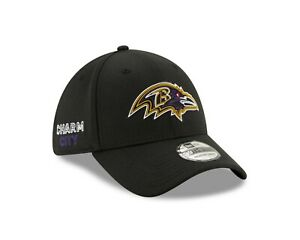 "Baltimore Ravens New Era NFL ""Charm City"" 39THIRTY Flex Hat - Black"