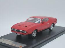 Ford Mustang Mach 1 2-door Sportsroof 1971 red 1/43 Premium X PRD396J
