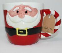 NEW Santa Clause Shaped Coffee Mug Cup Christmas Collection by Arlington Design