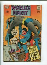 WORLDS FINEST #180 (4.0) PERFECT CRIME! 1968