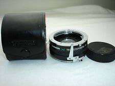 TAMRON MC Tele Converter lens 2x  for MINOLTA MD mount cameras