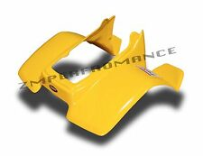 NEW SUZUKI LT50 84 - 87 QUADRUNNER PLASTIC YELLOW REAR FENDER LT 50 PLASTICS