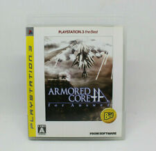 Sony PS3 PLAYSTATION - Armored Core For Answer The Best Japanese Version