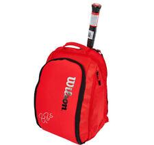 Wilson Roger Federer DNA Tennis Backpack Red Gym/Badminton/Squash WRZ-830896