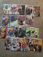 DC Comics Convergence #0-8 Complete Lot of 21 + 6 tie ins Booster Gold, Superboy