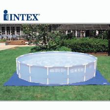 Intex 58932 Toile de Base pour Piscine 472 cm Bâche de Repos